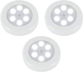 ZEEFO Pack de 3 Luces con Sensor de Movimiento