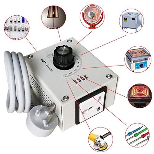 Yongse 4000W AC 220V Variable Voltage Controller voor Fan Speed Motor Temperatuurdimmer