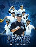New York Yankees 2022 Calendar: 18-month Calendar from Jul 2021 to Dec 2022 with size 8.5x11 inch for all fans