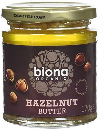 Biona Beurre de Noisette Bio 170 g - Lot de 3