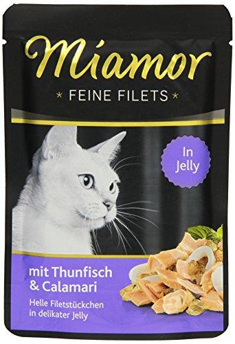 Miamor Feine Filets in Jelly Thun & Calamari 24x100g
