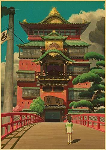 Miyazaki Hayao Rompecabezas De El Viaje De Chihiro 1000 Piezas   Rompecabezas El Rompecabezas Rompecabezas De Madera Juguetes Educativos para Niños Adultos Cumpleaños