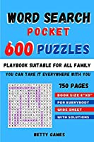 Word Search Pocket 600 Puzzles: playbook suitable for all FAMILY