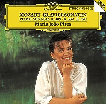 Mozart: Piano Sonatas K.309, K.332 & K.570