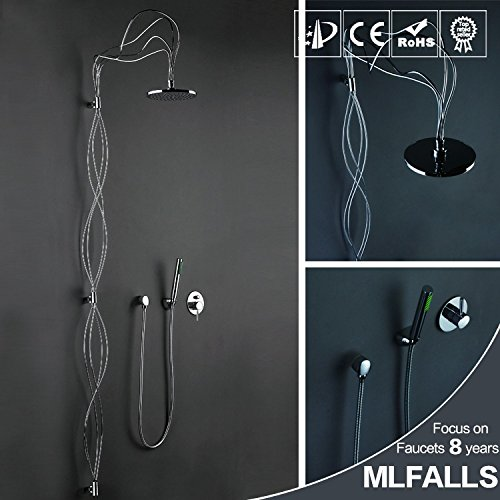 Learn More About JIN Copper nest art concealed wall hot and cold shower faucet/Villa bathroom shower