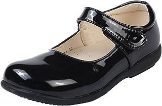 MK MATT KEELY école Chaussure Garçons Enfants Chaussures Mary Jane d'école