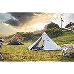 OneTigris HOWLINGTOP Ultralight Mesh Teepee for Smokey Hut Hot Tent, Weighs 2.2Ib 9