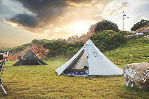 OneTigris HOWLINGTOP Ultralight Mesh Teepee for Smokey Hut Hot Tent, Weighs 2.2Ib 1