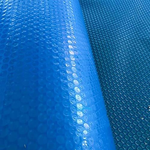 HWF Pool Cover Poolabdeckplane Solar Pool Bubble Cover Heizung Schwimmt, Heizdecke für Boden- und Oberirdische Runde Schwimmbäder und Frame Pools Cover (Size : 2m x 6m(6ft×19ft))