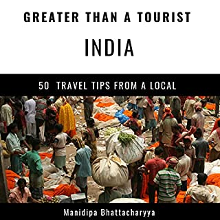 Greater Than a Tourist - India audiobook cover art