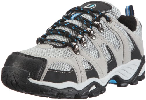 Ultrasport Hiker Unisex Erwachsenen Outdoor – Trekking – Wander - Nordic Walking Schuhe, Grau (Grey/black/blue 150), 40 EU, (6.5 UK)