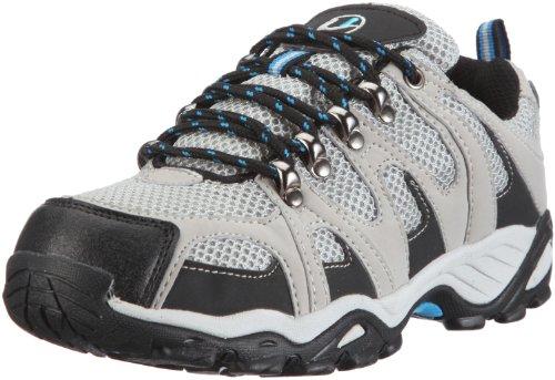 Ultrasport Hiker Unisex Erwachsenen Outdoor – Trekking – Wander - Nordic Walking Schuhe, Grau (Grey/black/blue 150), 41 EU, (7 UK)