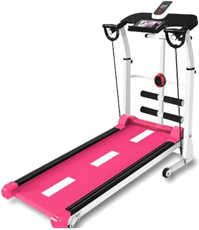 Laufbnder Gewichtsverlust Aerobic Walking Multifunktions-Sit-Ups Fitnessgerte (Farbe   schwarz, Größe   115  28  53cm)