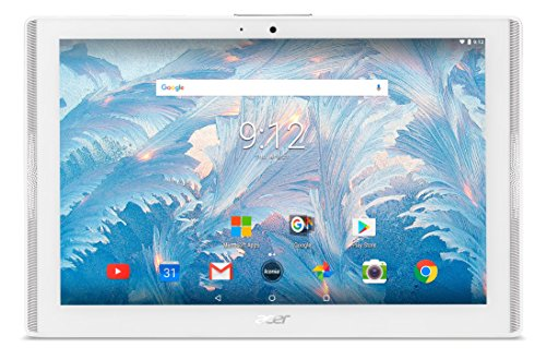 Acer Iconia One 10 B3-A40 Tablet (MediaTek 8167 Cortex A35 1.3GHz Processor, 2 GB RAM, 16GB eMMC, 10.1 inch Display, Android 7.0, White) (Renewed)