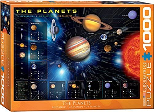 EuroGraphics The Planets Puzzle (1000-Piece) by EuroGraphics