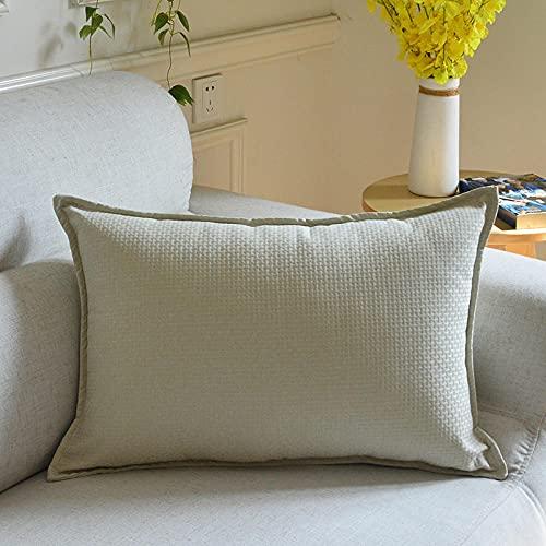 Almohada, Almohada de Diseño Ergonómico, Adecuada para Todos los Durmientes -Blanco Crema_40x70cm
