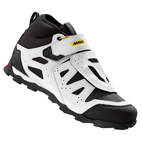 Mavic Crossride XL Elite de Hombres Proteger para Bicicleta de montaña Ciclismo Zapatos, Hombre, L3779410012, Negro/Blanco, Talla 12