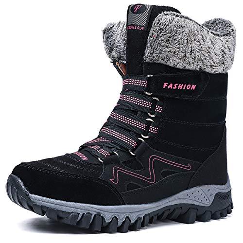 günstig AARDIMI Winterschuhe mit warmem Futter.  Winterstiefel für Frauen.  Wasserdichte Schuhe für Spaziergänge im Freien. Vergleich im Deutschland
