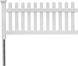 zippity newport vinyl picket fence