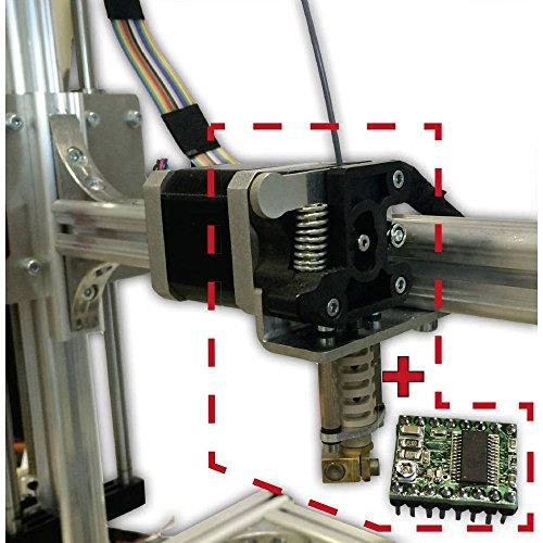 VELLEMAN K8203 Kits - Extrusor de 0,35 mm con accionamiento Directo para K8200 840615