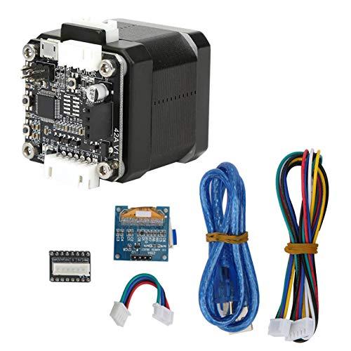 Herramienta eléctrica Motor de engranajes Motor paso a paso CC de bucle cerrado Motor eléctrico de gran torsión con pantalla para pulidora para placa base SKR