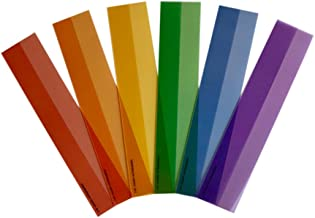 Reading Guide Strips for Kids in Highlighted Colors in Set of Six