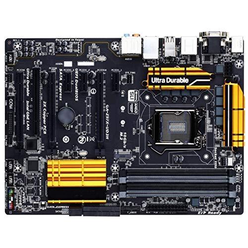 ALBBMY Compatible con placa base Gigabyte GA-Z97X-UD3H Z97X-UD3H Z97 Socket LGA 1150 DDR3 USB3.0 SATA3.0 Gaming Motherboard