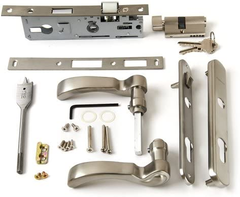 Andersen Storm Door Handle Max 87% OFF Assembly Directly managed store Traditional Finish in Nickel