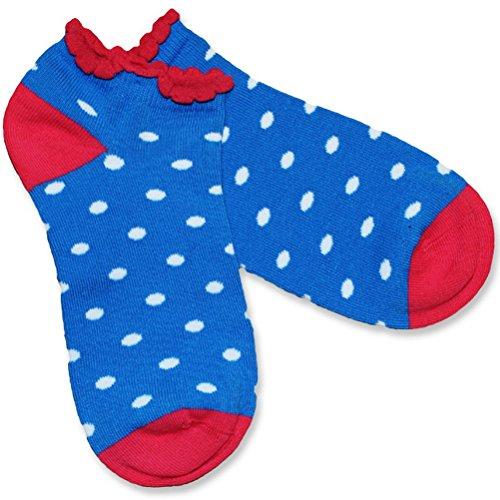 Bonnie Doon Mädchen Dazzling Dots Short Sock true blue (23-26, true blue)