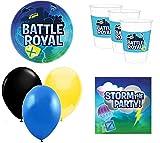 battle royal cumpleaños - Kit de cumpleaños Videojuegos - 8 Personas