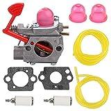 Yermax 545081855 Carburetor for Walbro WT-875 WT-875A Craftsman Poulan Pro Blower BVM200C BVM200VS P200C GBV325 P325 200mph Blower