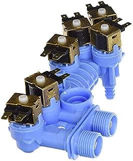 Repairwares Washing Machine Water Inlet Valve Assembly W10853723 W10342320 W10326913 W10853723VP WPW10326913 PS11731257