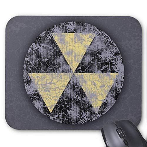 Accesorios de ordenador anti-fricción pulsera Fallout Shelter-cl-dist Mouse Pad 18X22