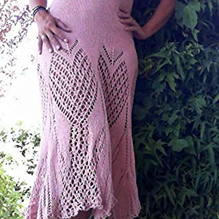 Vestido de Verano Algodón Color Rosa Tejido a Mano para Mujer o Chica