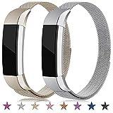 Onedream Bracelet Compatible pour Fitbit Alta/Alta HR Bracelets Femme Homme 2 Pack Remplacement...