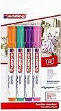 edding 4500 Textil-Marker - 4er Blister - Fun Farben -