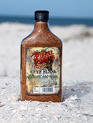Pirate Jonny's Ranking TOP15 Jamaican Jerk HOT Flask - Genuine