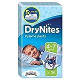 Huggies 4-7Jahre DryNites Pyjama Pants Spiderman 30pro Packung - 2