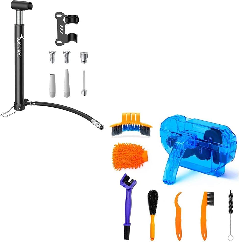 Sportneer Bicycle Cleaning Tools Set Bike Kit pc 8 Sale item Brush 2021 Clean