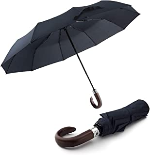 1 Pc Travel Umbrella Small Foldable Umbrella for Men Women Strong Automatic
