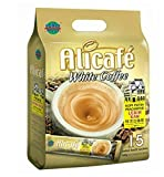 2-Pack / Malaysia Alicafe White Coffee / Extra Rich, Heavenly Aroma, Smoother Texture, Bolder Richer Aftertaste / Perfect Coffee Fix On The Go / 15 sachets x 40g/pack
