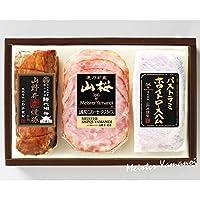 マイスター山野井 YE30 (焼豚、ハム、ソーセージ詰合せ) ギフトセット