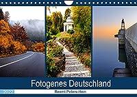 Fotogenes Deutschland (Wandkalender 2022 DIN A4 quer): Einige der schoensten, bekannten und weniger bekannten Ecken Deutschlands (Monatskalender, 14 Seiten )