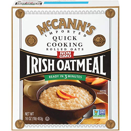 McCann's Irish Oatmeal, Quick Cooking Rolled Oats, 16 Ounce