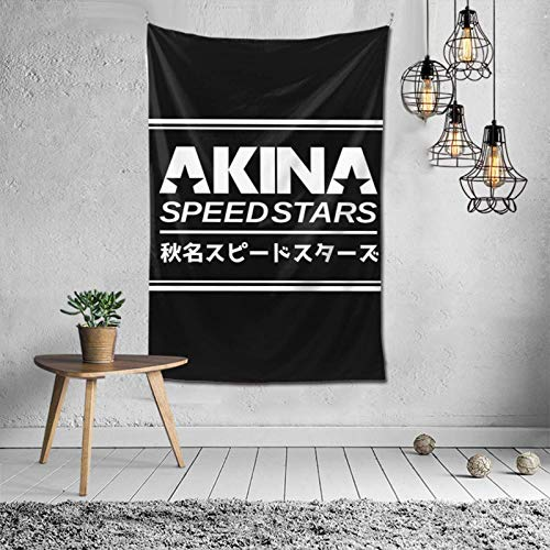 Yuanmeiju Tapiz Decorativo Akina Speed Stars (White) Tapestry Wall Hanging with Art Nature Home Decorations for Living Room Bedroom