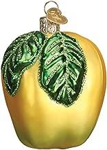 Old World Christmas Yellow Apple 28114 Ornament