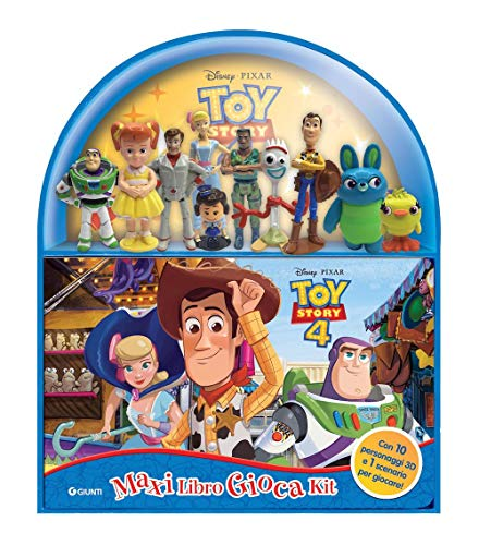 Toy Story 4. Maxi libro gioca kit. Ediz. a colori. Con gadget