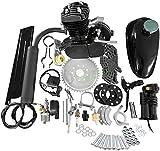 80cc Bicycle Engine Kit 2-Stroke Gas Motorized Bike Motor Kit Upgrade for Motorized Bicycle Full Set