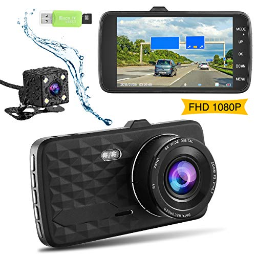 FMAIS Dash Cam Full HD 1080P Car Camera Recorder DVR Driving ...