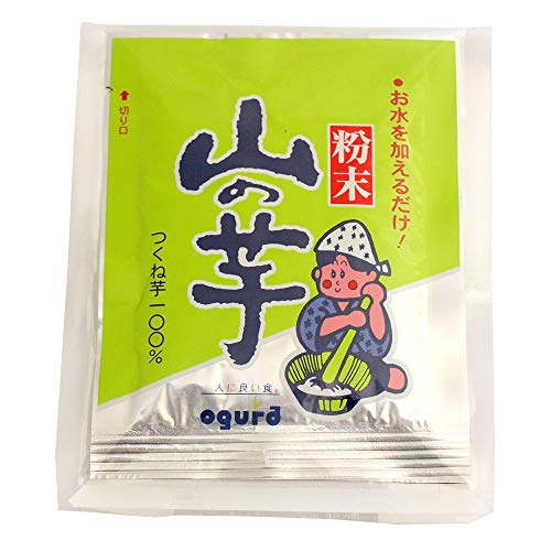 OGURA  粉末山の芋 10g×5袋入り  5パック